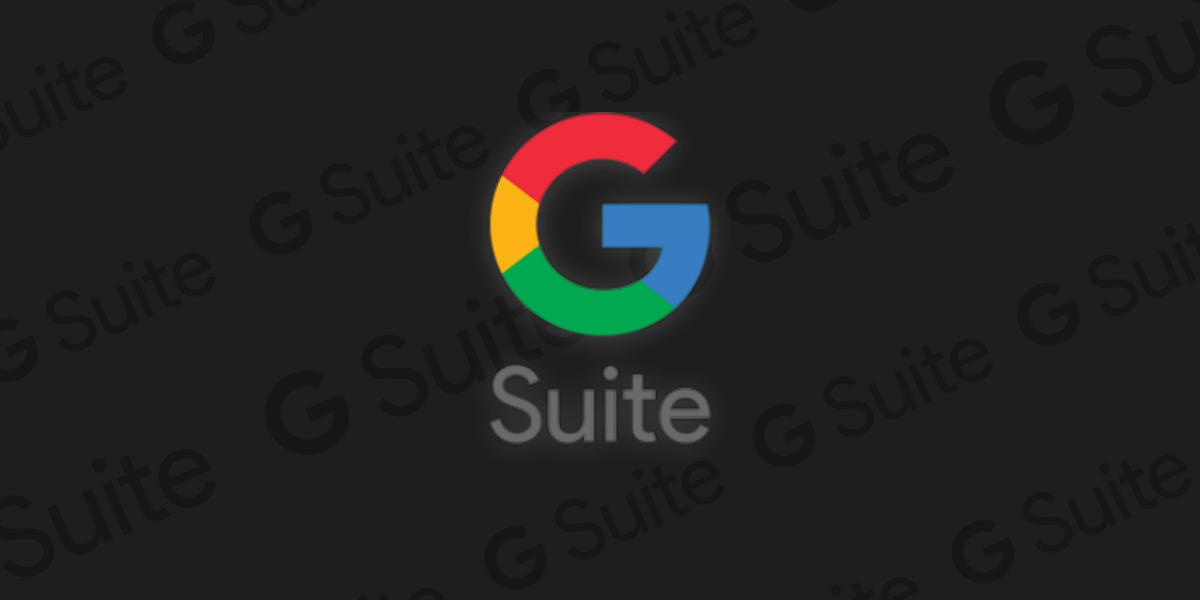 G suite icon and design