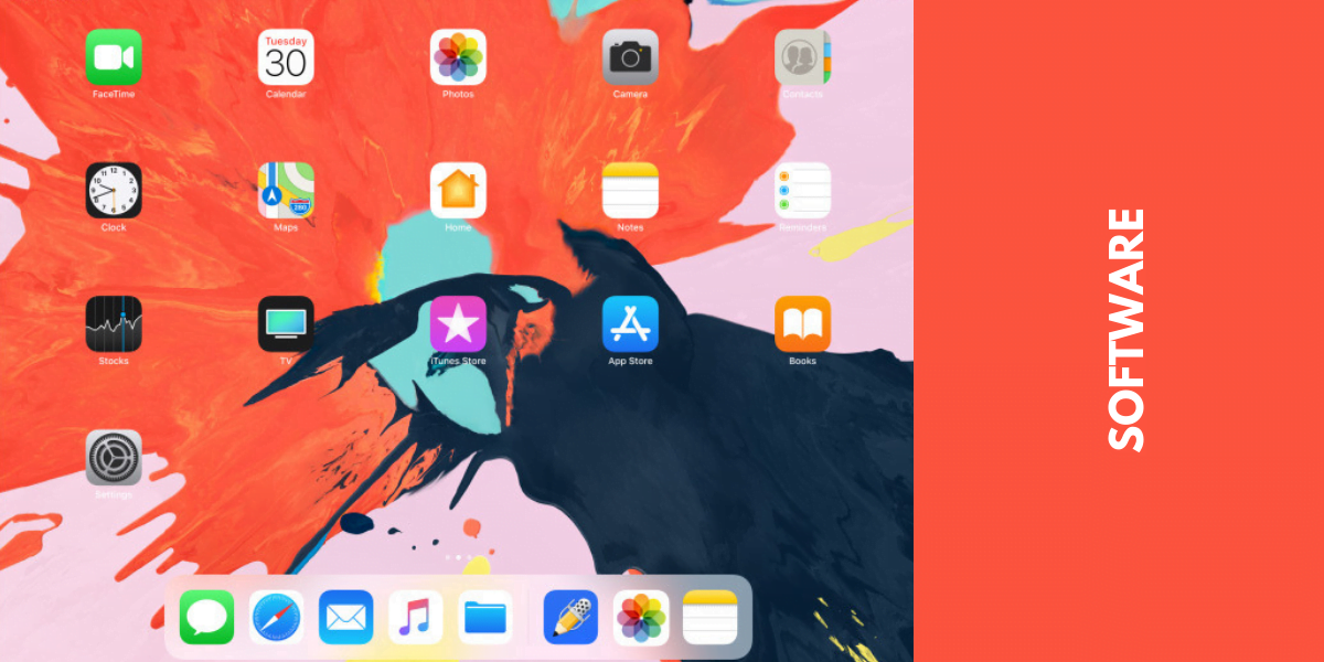 iPad Pro 2018 Software, apps, OS