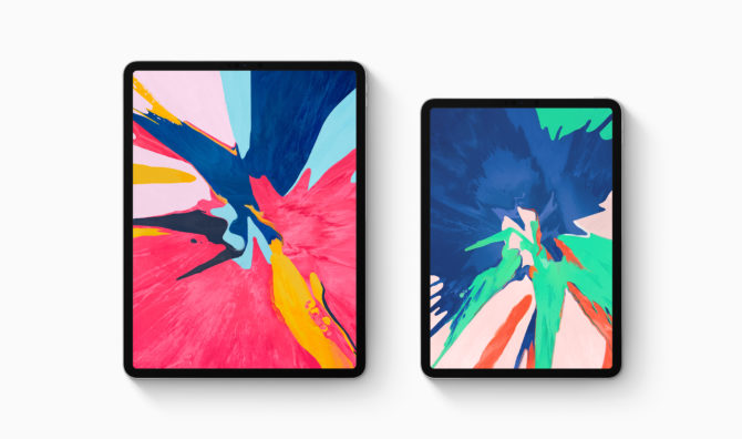 iPad Pro 2018 review by abdugeek, two iPads front view