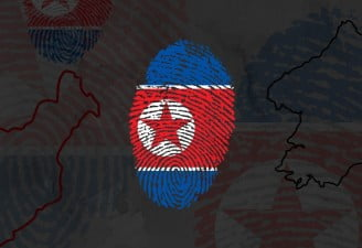 illustration contains north korea