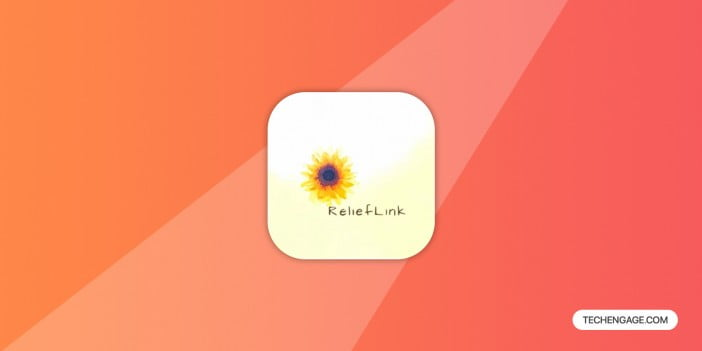 A logo of Relieflink