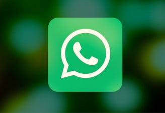 Image contains WhatsApp logo for featured post