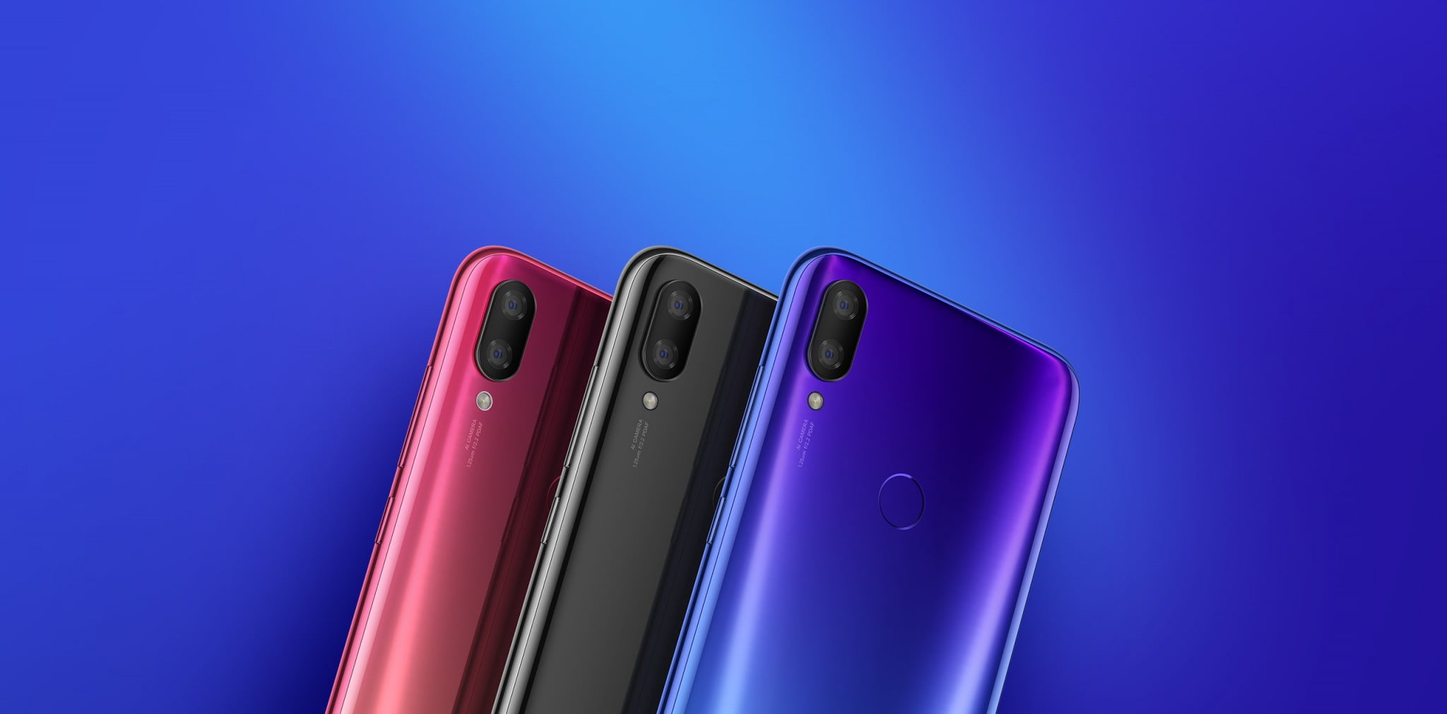 Xiaomi Mi Play Three colors