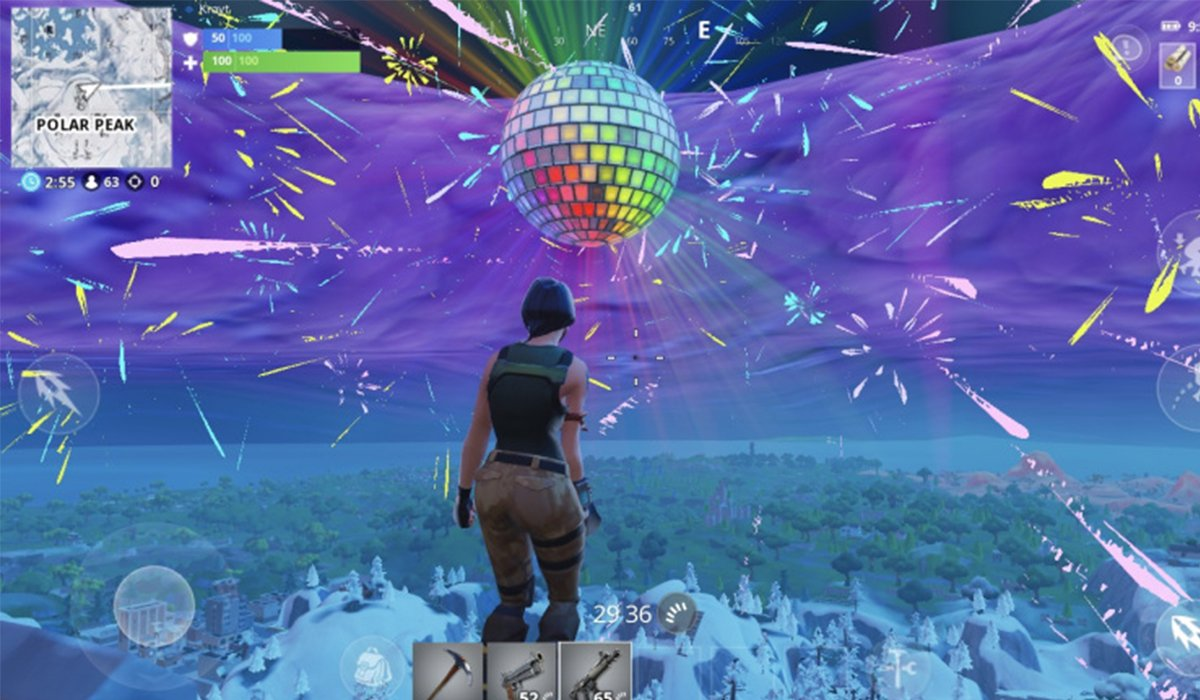 Fortnite scnreenshot New Year's Eve