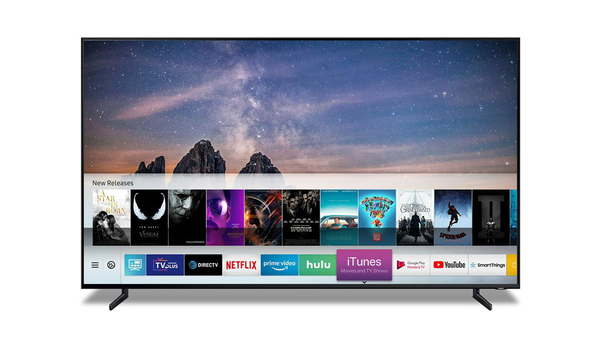 Samsung TV with iTunes and Airplay support