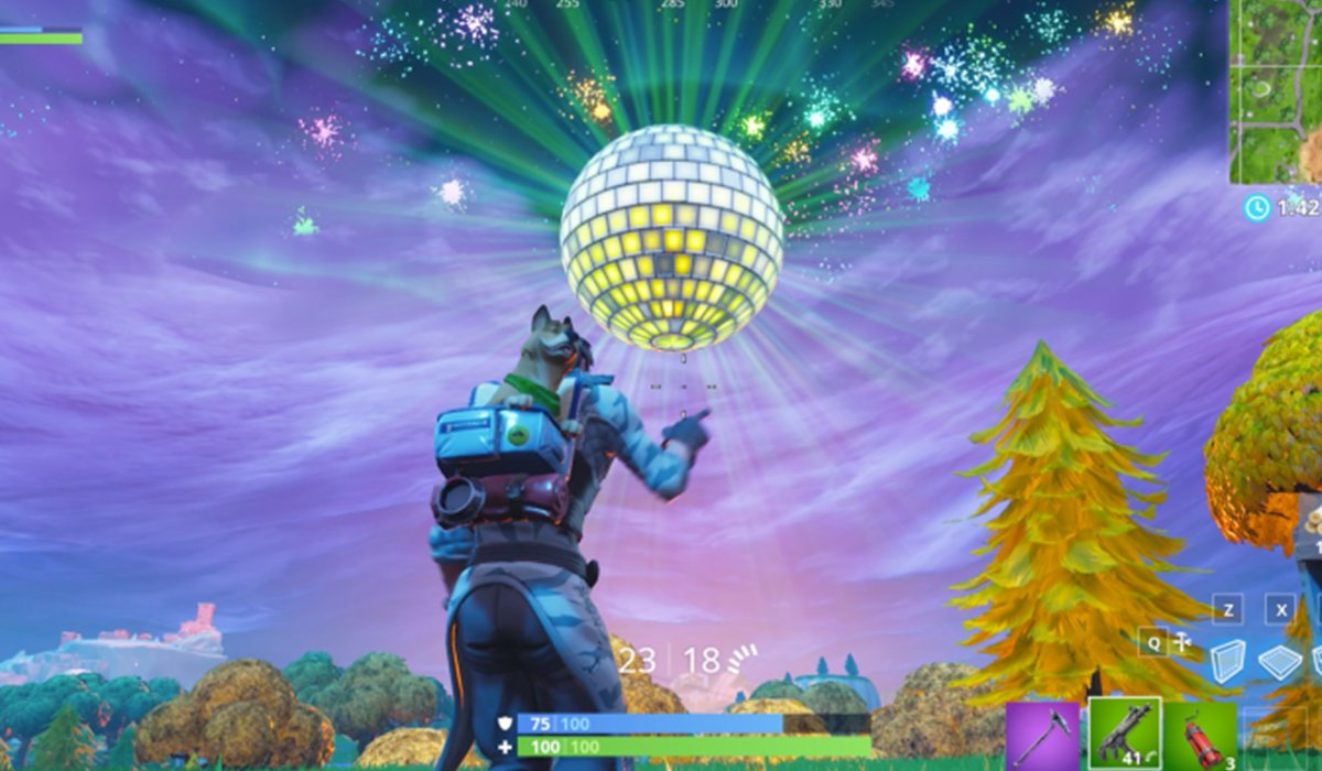 Fortnite game Disco Ball screenshot