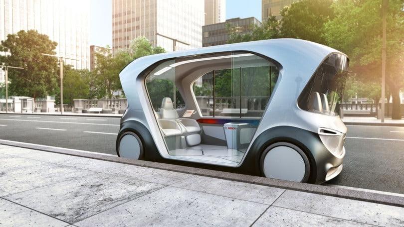 Bosch driverless shuttle