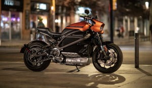 Harley Davidson Electric Bike at CES