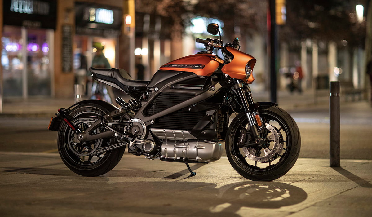Harley Davidson Electric Bike at CES