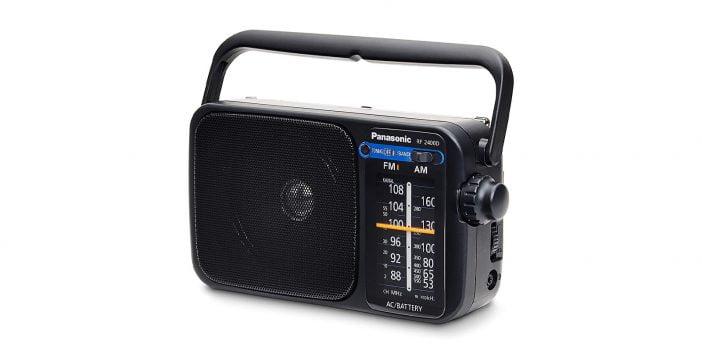 Panasonic-RF-2400D AM Radio on Amazon