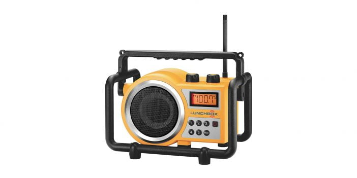 Sangean-LB-100-Ultra-Rugged-Compact-AM-FM Radio on Amazon