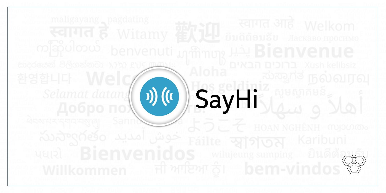 Say Hi translation app