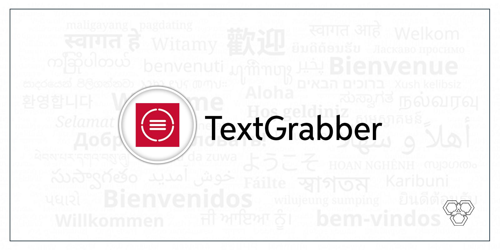 TextGrabber app