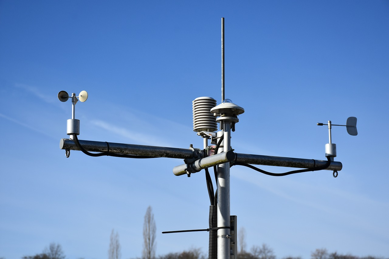 A personal weather station aka Anemometer