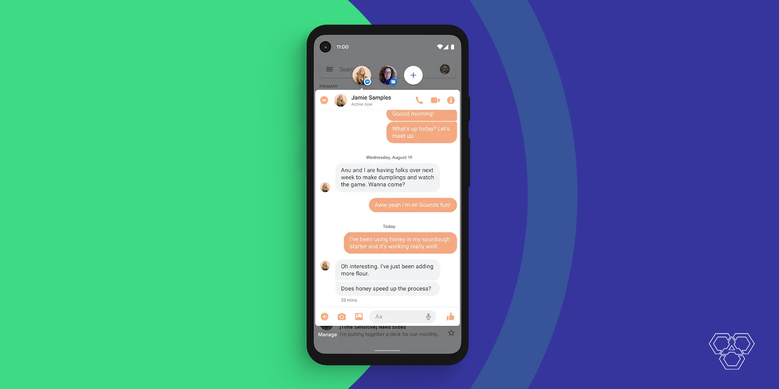 Bubble Chat in Android