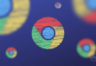 chrome icons in a design