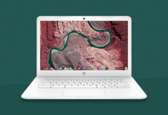 HP Chromebook 14 with AMD processor