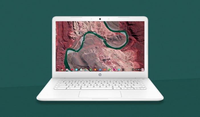 HP Chromebook 14 with AMD processor