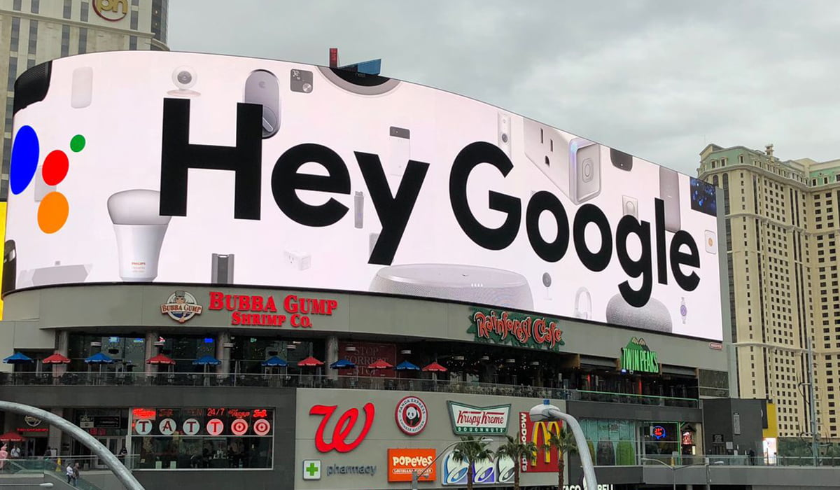 hey google in las vegas