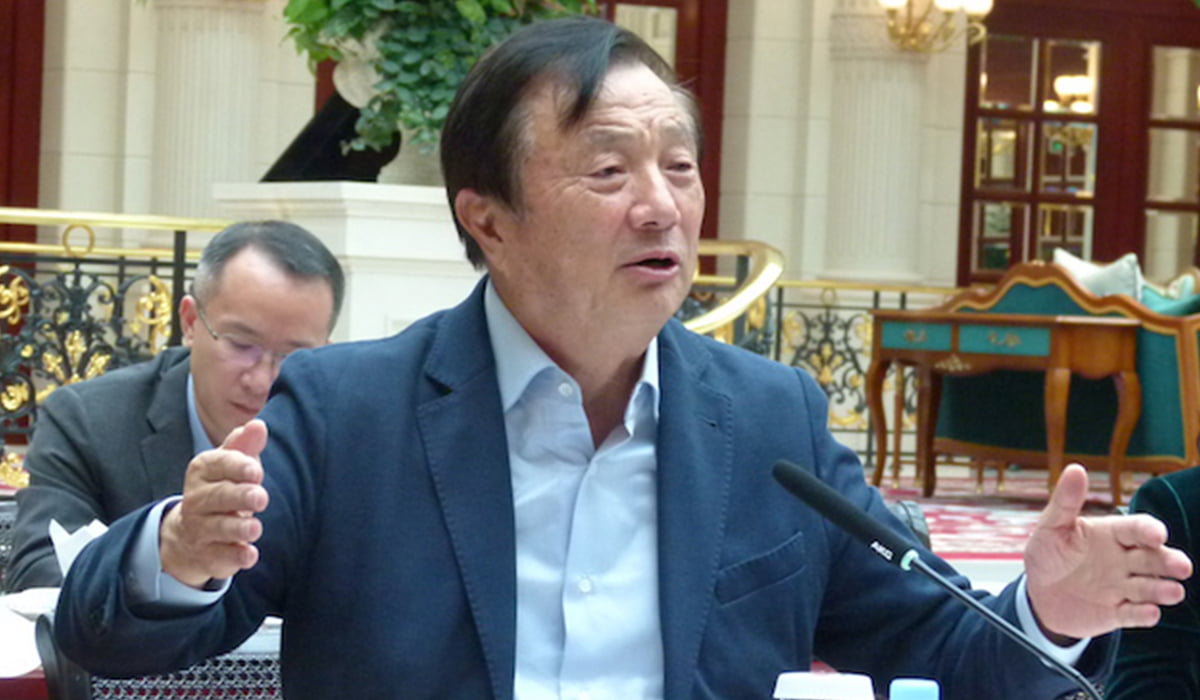 huawei ceo in a press conference
