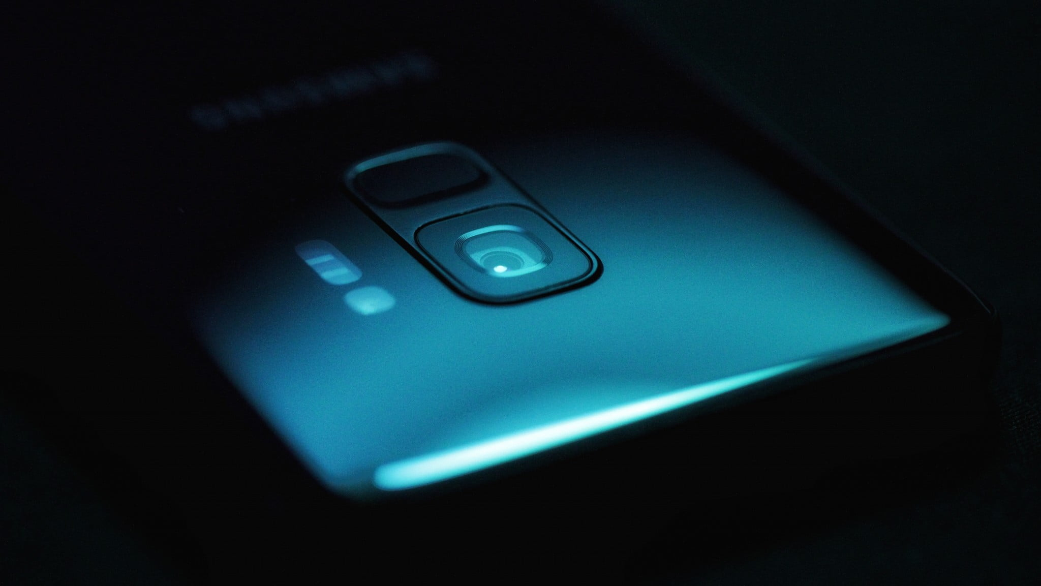 Samsung Galaxy S9 camera module picture