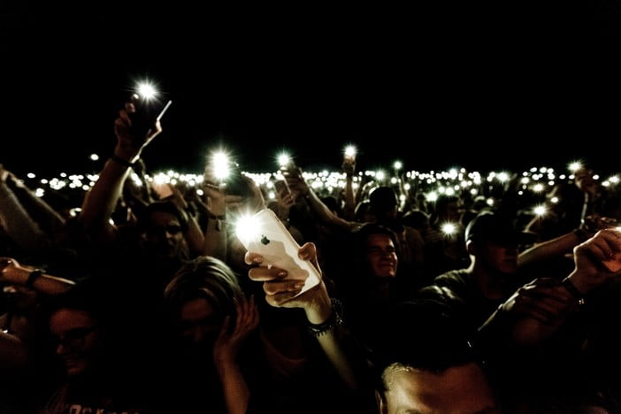 iPhone Flashlights ON
