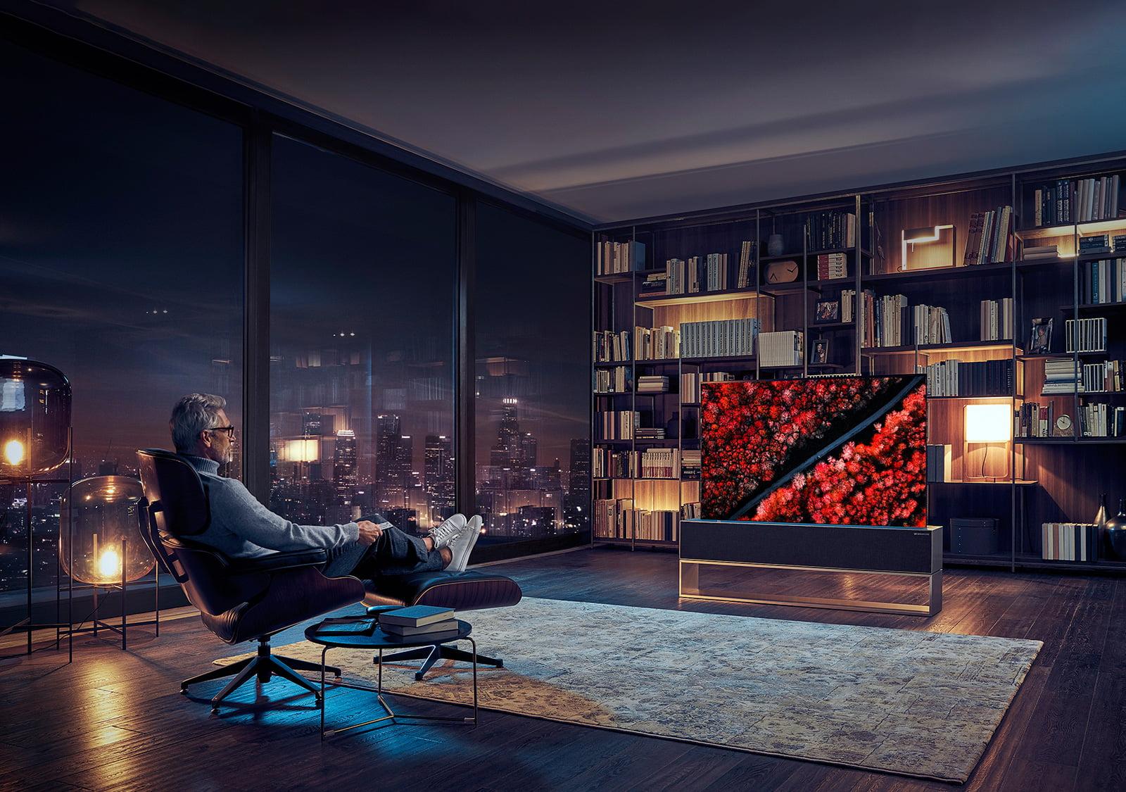 LG full view TV