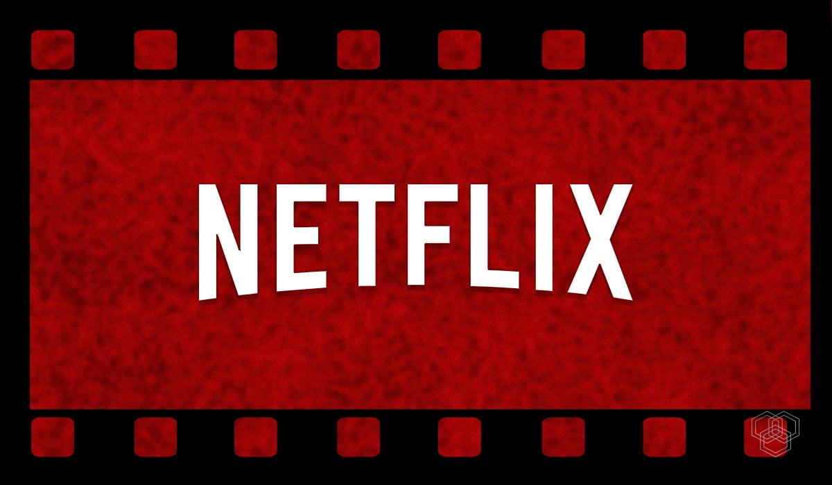 a design shows netflix logo