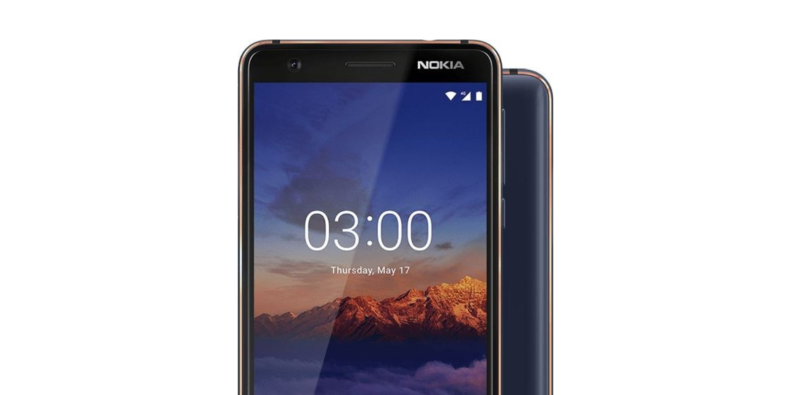 Nokia 3.1 Android One phone