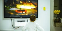 Time spent in front of screens hinders child development