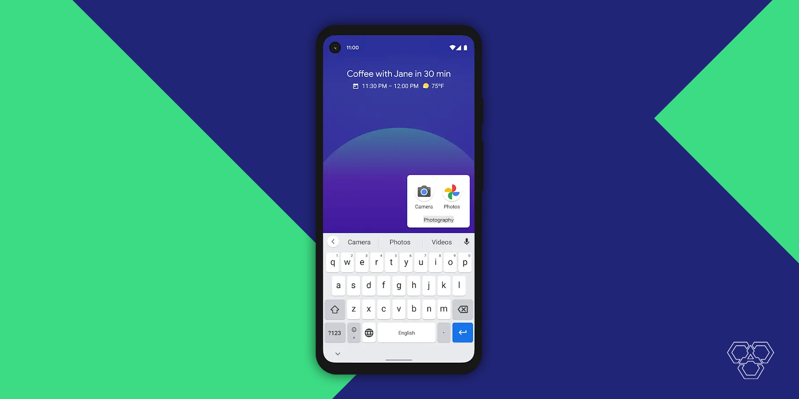 Smart Folders in Android 11