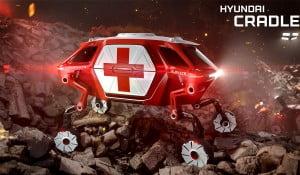 hyundai walking car at ces 2019