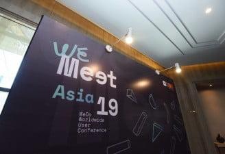 WeMeet Asia 2019 event