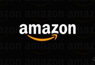 An illustration with Amazon logo