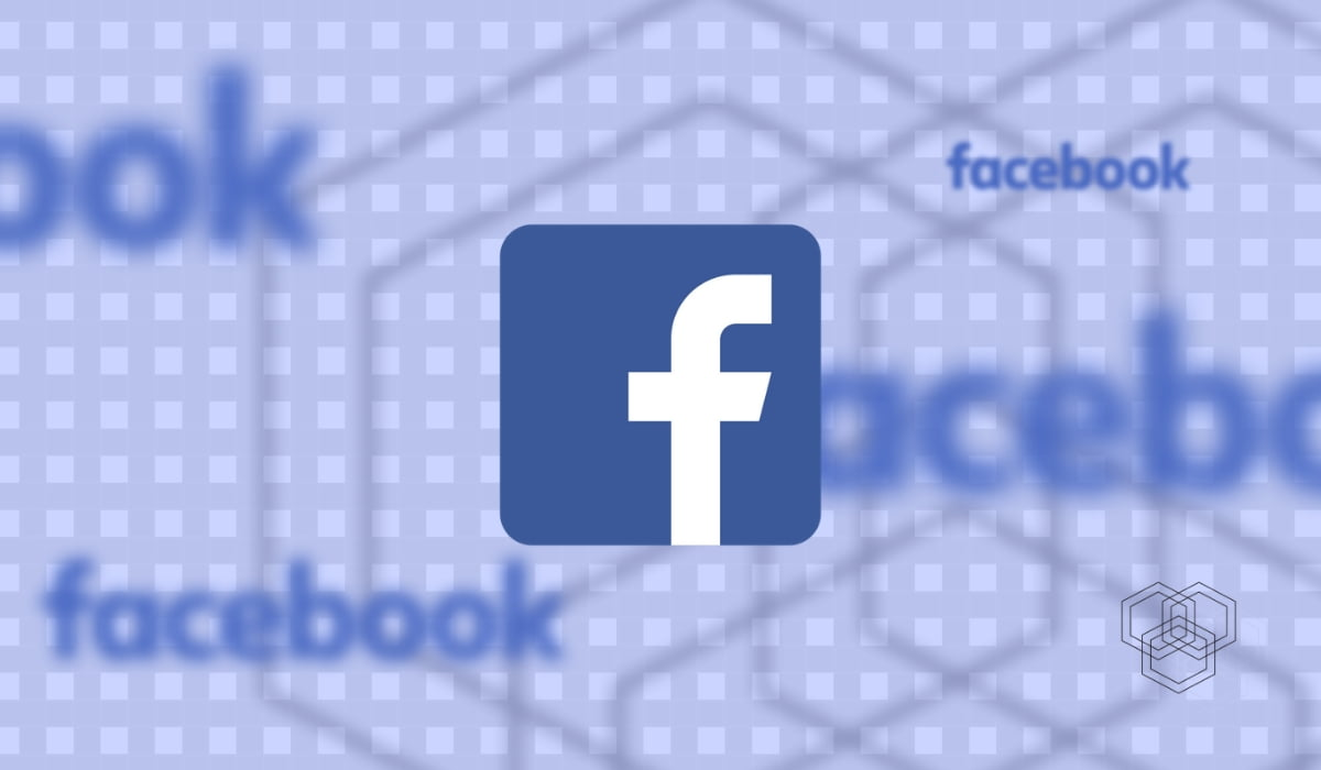 An image of facebook logo design for techengage