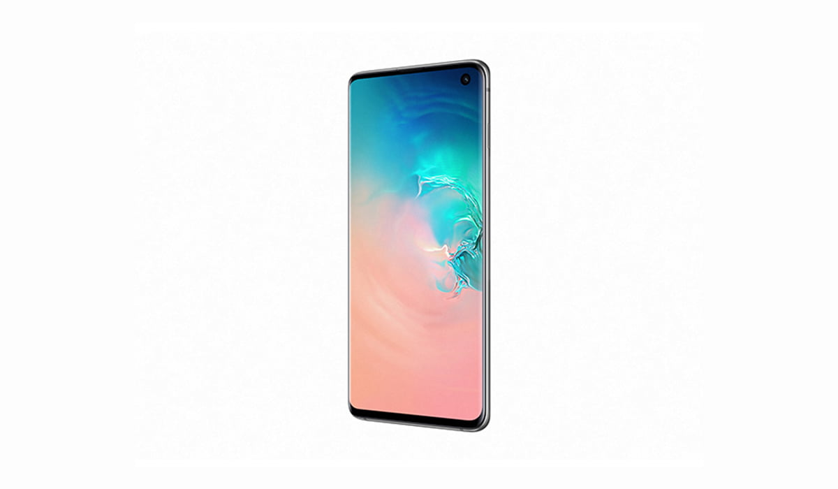 A render of Samsung Galaxy S10