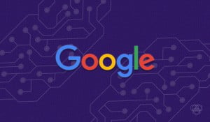 An illustration of Google logo for Google Project Maven for Pentagon article