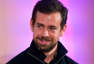 Jack Dorsey smiling in a picture