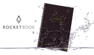 A picture of rocketbook everlast in black