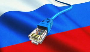 an image of ethernet and russian flag