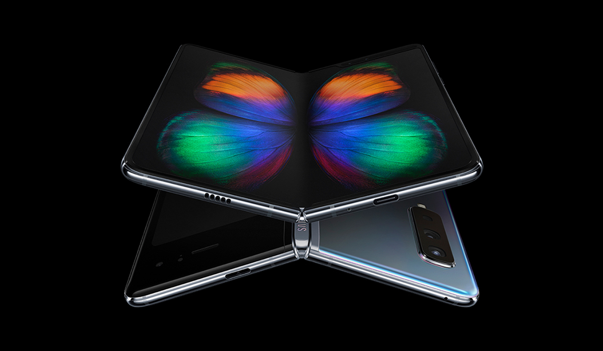 A promotional picture of Samsung Galaxy Fold
