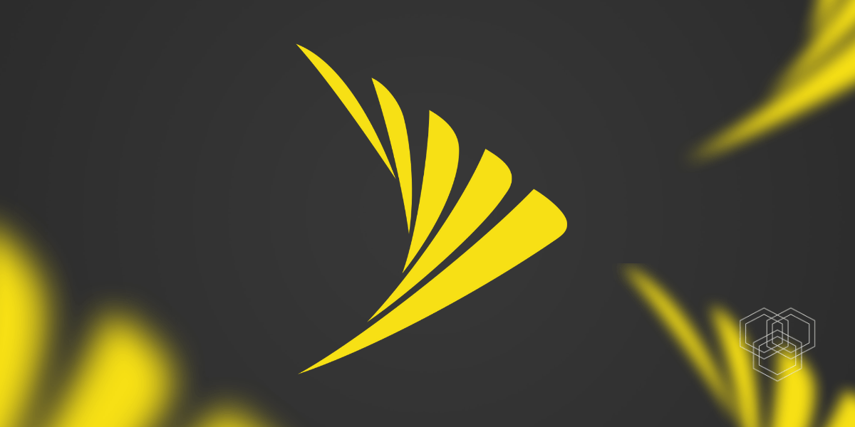 An image contains sprint logo