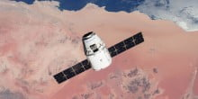 First commercially built and operated American spacecraft docks at ISS