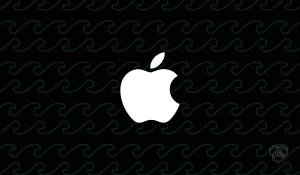 An illustration of Apple logo