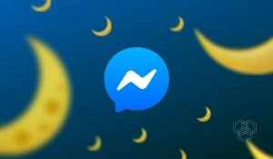 A featured image design with messenger icon and crescent emoji by Muhammad Abdullah aka abdugeek