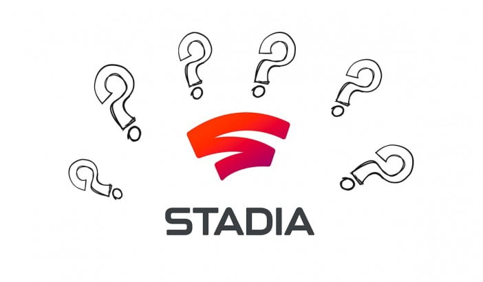 An illustration using Google Stadia logo
