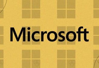 An illustration of Microsoft logo