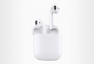 A photo of Apple's new 2019 AirPods