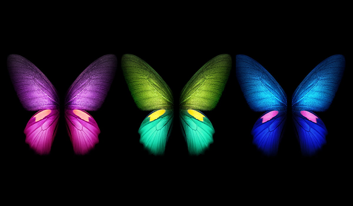 Samsung Galaxy Fold Wallpapers preview