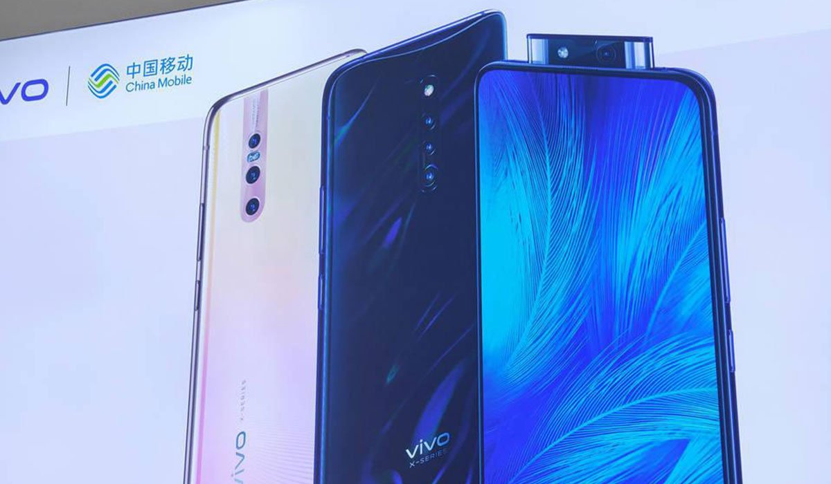 A leaked image of Vivo X27 Pro along with other variants